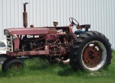 Blue Collar boxers old tractor